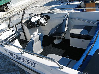 Fisherman Double Consol 540